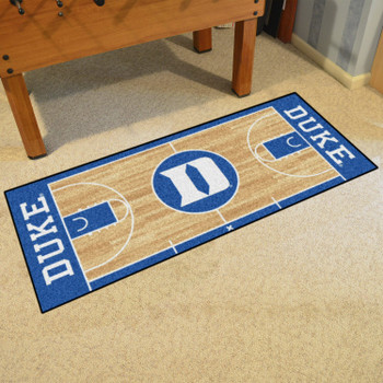 "30"" x 72"" Duke University NCAA Basketball Rectangle Runner Mat"