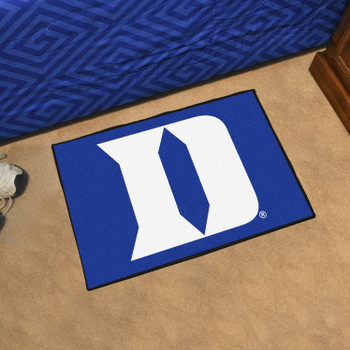 "19"" x 30"" Duke University Blue Rectangle Starter Mat"