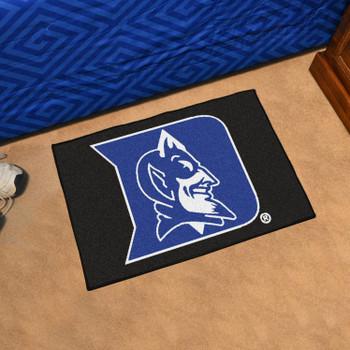 """19"""" x 30"""" Duke University Blue Devils Rectangle Starter Mat"""