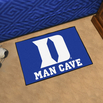 "19"" x 30"" Duke University Blue Man Cave Starter Rectangle Mat"