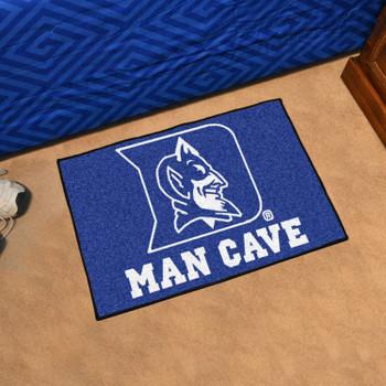 """19"""" x 30"""" Duke University Blue Devils Man Cave Starter Rectangle Mat"""