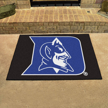 """33.75"""" x 42.5"""" Duke University Blue Devils All Star Blue Rectangle Mat"""