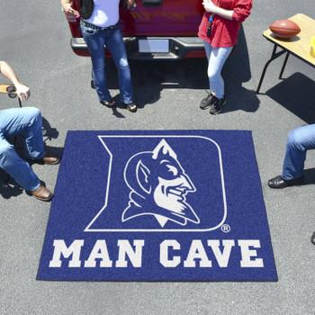 "59.5"" x 71"" Duke University Blue Devils Man Cave Tailgater Rectangle Mat"