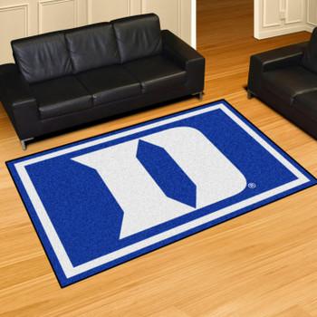 5' x 8' Duke University Blue Rectangle Rug