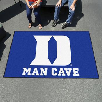 """59.5"""" x 94.5"""" Duke University Blue Man Cave Rectangle Ulti Mat"""