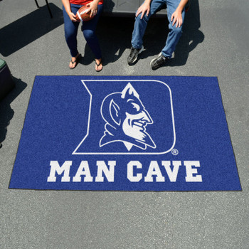 "59.5"" x 94.5"" Duke University Blue Devils Man Cave Rectangle Ulti Mat"
