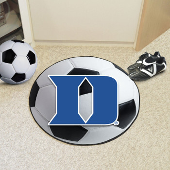 "27"" Duke University Soccer Ball Round Mat"