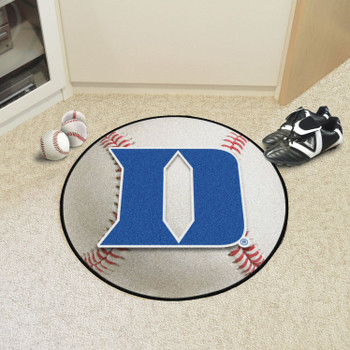 "27"" Duke University Baseball Style Round Mat"