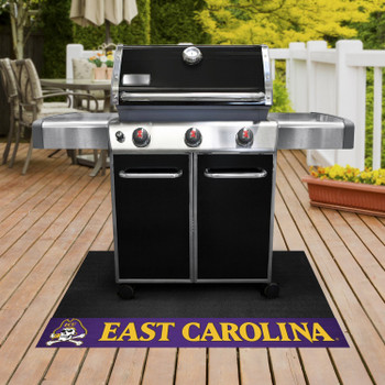 "26"" x 42"" East Carolina University Grill Mat"