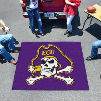 "59.5"" x 71"" East Carolina University Purple Tailgater Mat"