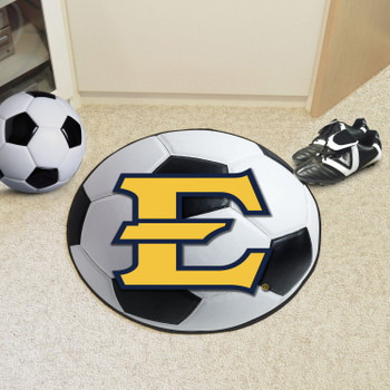 "27"" East Tennessee State University Soccer Ball Round Mat"