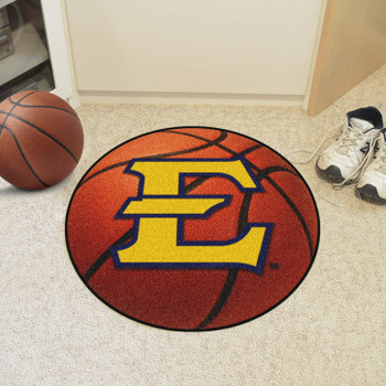 "27"" East Tennessee State University Basketball Style Round Mat"