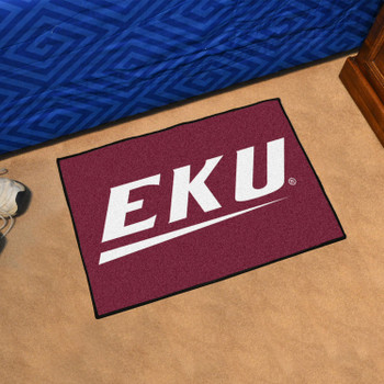 "19"" x 30"" Eastern Kentucky University Maroon Rectangle Starter Mat"