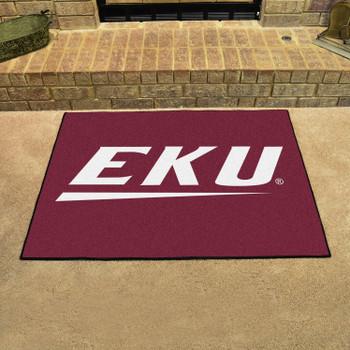 "33.75"" x 42.5"" Eastern Kentucky University All Star Maroon Rectangle Mat"