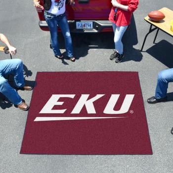 """59.5"""" x 71"""" Eastern Kentucky University Maroon Tailgater Mat"""