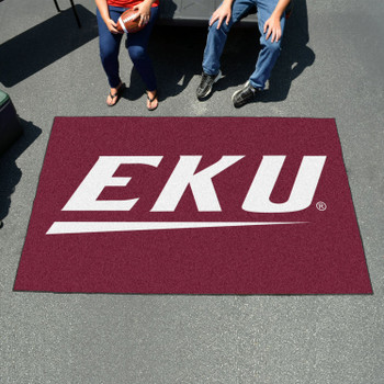 "59.5"" x 94.5"" Eastern Kentucky University Maroon Rectangle Ulti Mat"