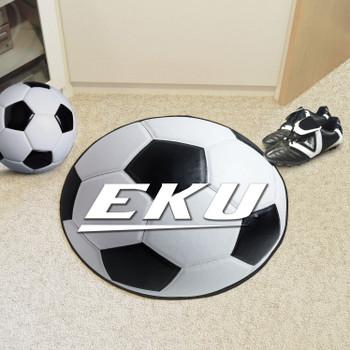 """27"""" Eastern Kentucky University Soccer Ball Round Mat"""