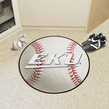 "27"" Eastern Kentucky University Baseball Style Round Mat"
