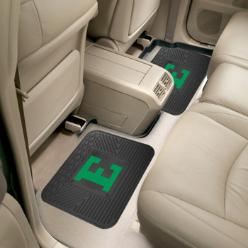 Eastern Michigan University Heavy Duty Vinyl Car Utility Mats, Set of 2