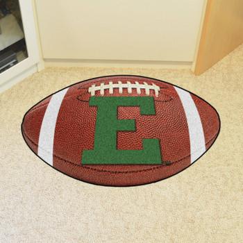 "20.5"" x 32.5"" Eastern Michigan University Football Shape Mat"