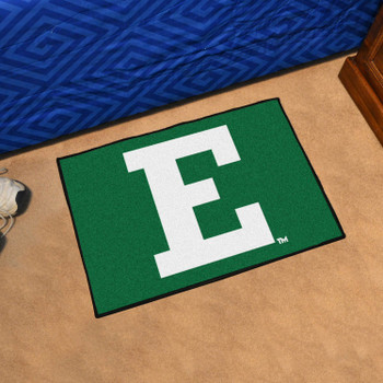 "19"" x 30"" Eastern Michigan University Green Rectangle Starter Mat"