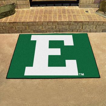 "33.75"" x 42.5"" Eastern Michigan University All Star Green Rectangle Mat"