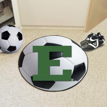 "27"" Eastern Michigan University Soccer Ball Round Mat"
