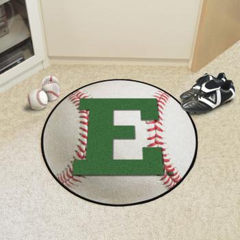 """27"""" Eastern Michigan University Baseball Style Round Mat"""