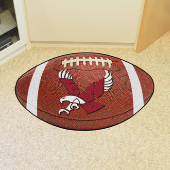 "20.5"" x 32.5"" Eastern Washington University Football Shape Mat"
