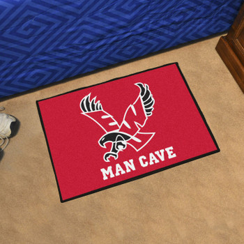 "19"" x 30"" Eastern Washington University Red Man Cave Starter Rectangle Mat"
