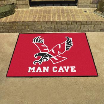 "33.75"" x 42.5"" Eastern Washington University Red Man Cave All-Star Rectangle Mat"