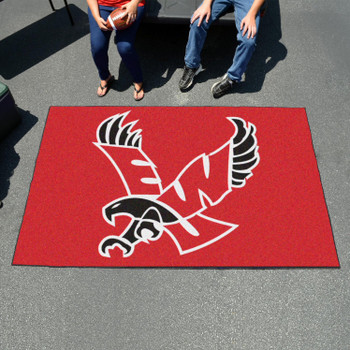 "59.5"" x 94.5"" Eastern Washington University Red Rectangle Ulti Mat"