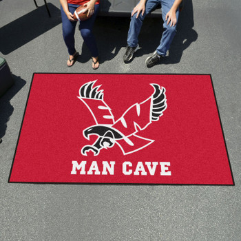 "59.5"" x 94.5"" Eastern Washington University Red Man Cave Rectangle Ulti Mat"