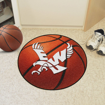 "27"" Eastern Washington University Basketball Style Round Mat"