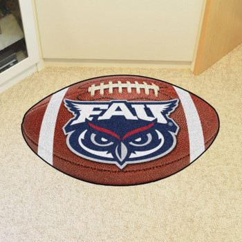 "20.5"" x 32.5"" Florida Atlantic University Football Shape Mat"