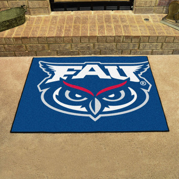 "33.75"" x 42.5"" Florida Atlantic University All Star Blue Rectangle Mat"