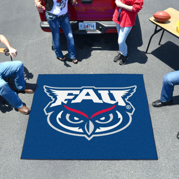 "59.5"" x 71"" Florida Atlantic University Blue Tailgater Mat"