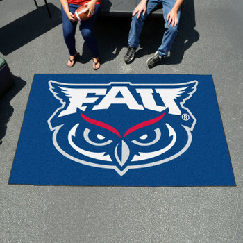 "59.5"" x 94.5"" Florida Atlantic University Blue Rectangle Ulti Mat"