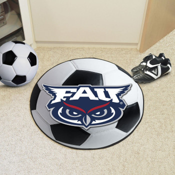 "27"" Florida Atlantic University Soccer Ball Round Mat"