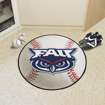 "27"" Florida Atlantic University Baseball Style Round Mat"