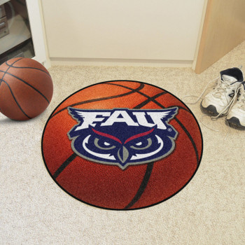 "27"" Florida Atlantic University Basketball Style Round Mat"