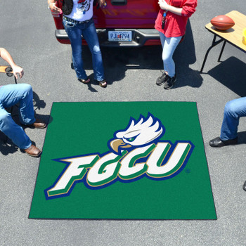 "59.5"" x 71"" Florida Gulf Coast University Green Tailgater Mat"