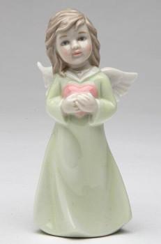 Angel of Love Porcelain Sculptures, Set of 2