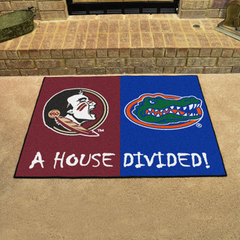 "33.75"" x 42.5"" Florida State / Florida House Divided Rectangle Mat"