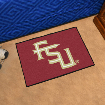 "19"" x 30"" Florida State University Maroon Rectangle Starter Mat"