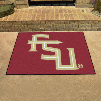 "33.75"" x 42.5"" Florida State University All Star Maroon Rectangle Mat"