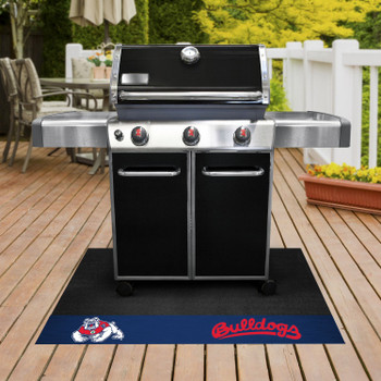 "26"" x 42"" Fresno State Grill Mat"