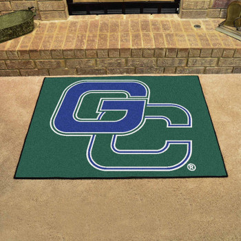 "33.75"" x 42.5"" Georgia College All Star Green Rectangle Mat"