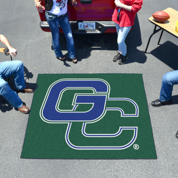 "59.5"" x 71"" Georgia College Green Tailgater Mat"