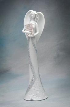 Angel of Wisdom Porcelain Figurine Sculpture